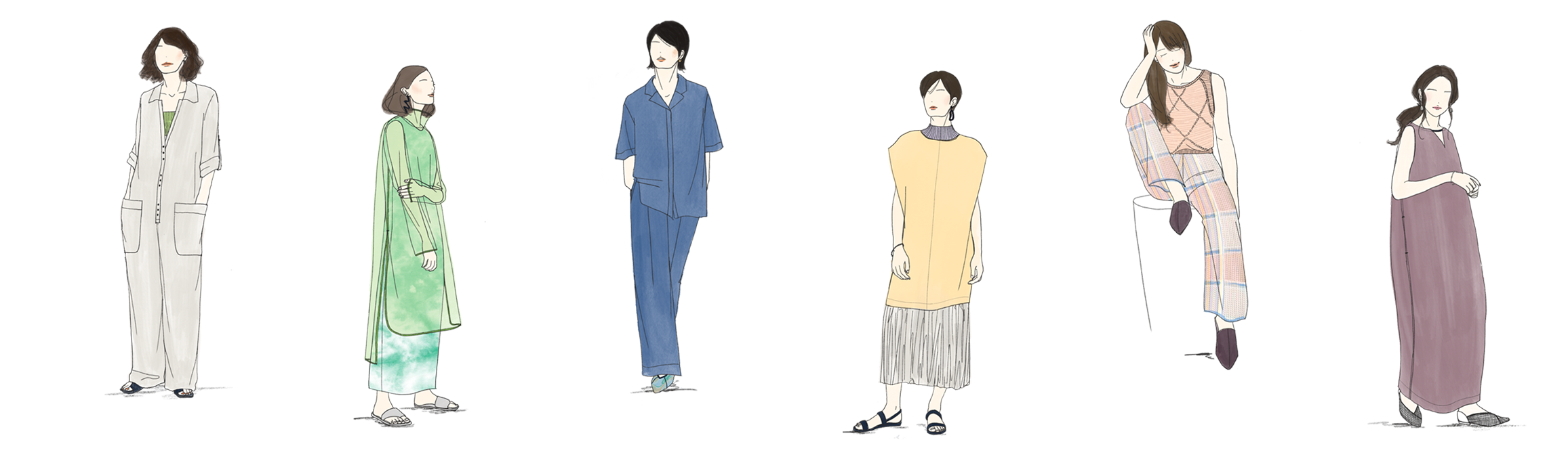 2022ss 2022春夏 ファッショントレンド スタイリング